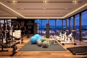 One Euphoria gym in roof deck - 1280px