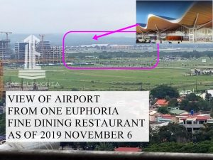 One Euphoria View of Airport - 2019 November 6 by JR Montano
